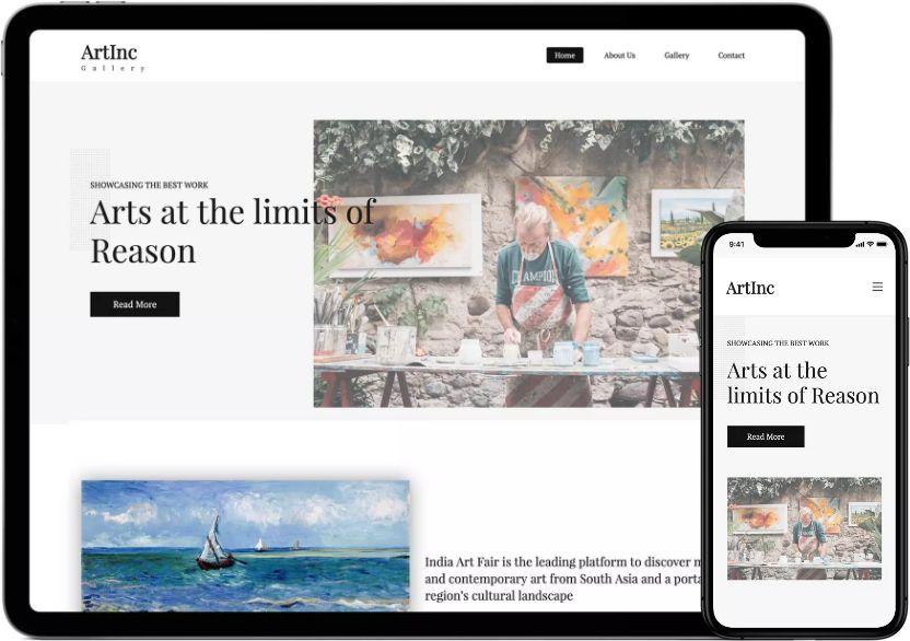 Zoho Site - Website builder